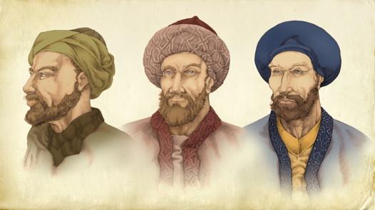 The Banu Musa brothers