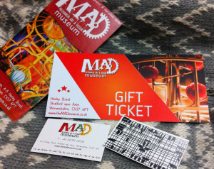 MAD gift ticket