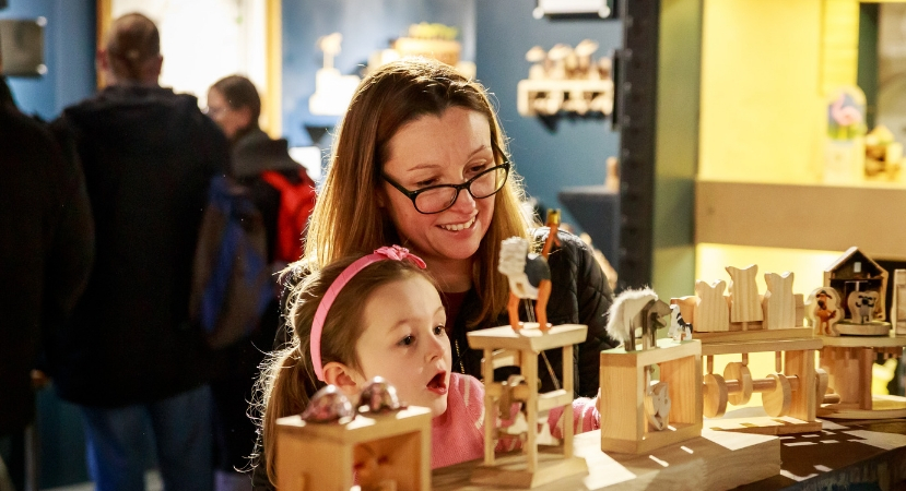mother and daughter at the mad museum for mothers day 2019